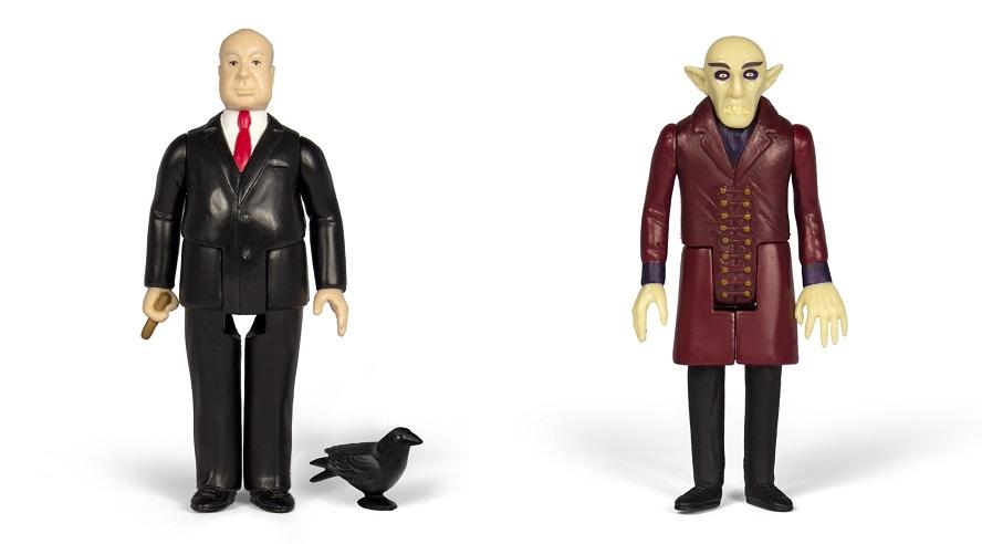 Nosferatu e Alfred Hitchcock sono le ReAction Figures natalizie della Super 7