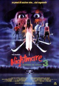 Nightmare 3 i guerrieri del sogno poster