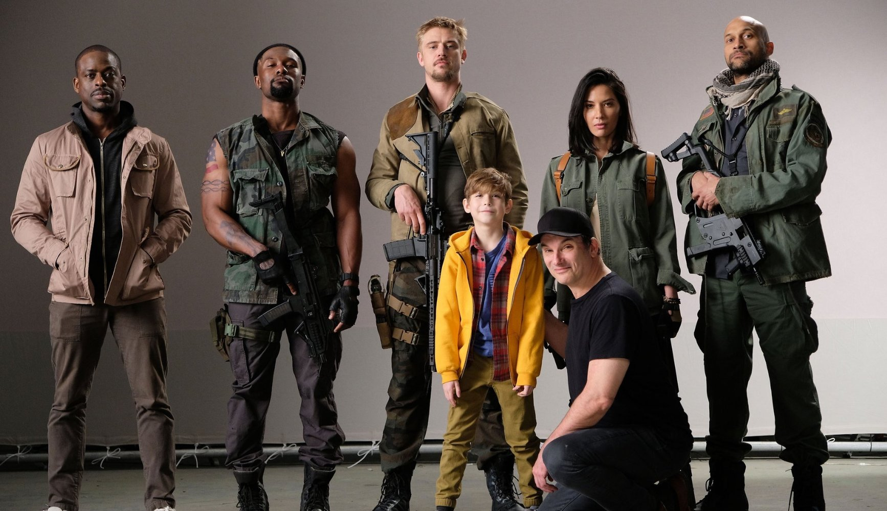 the predator shane 2018 cast