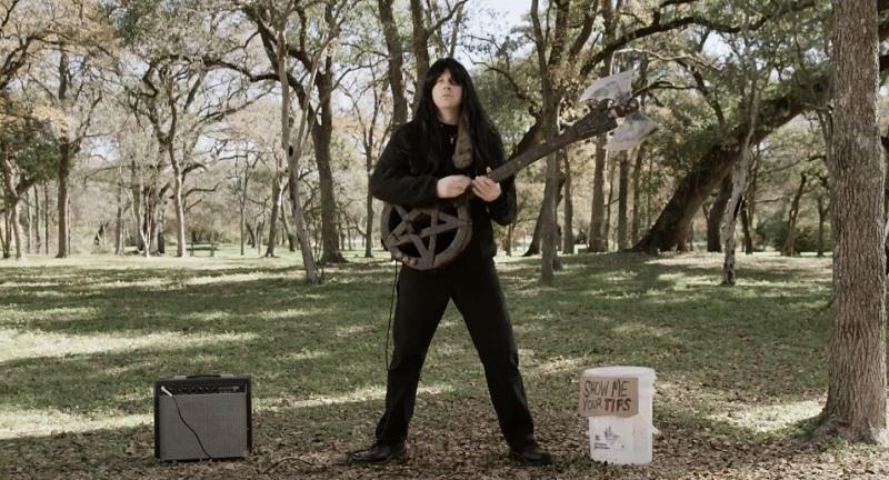 Cortometraggio   Il Death Metal di Chris McInroy è letteralmente musica splatter!