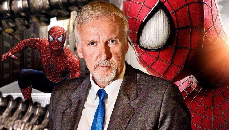 Il film di Spider-Man che James Cameron non riuscì a girare