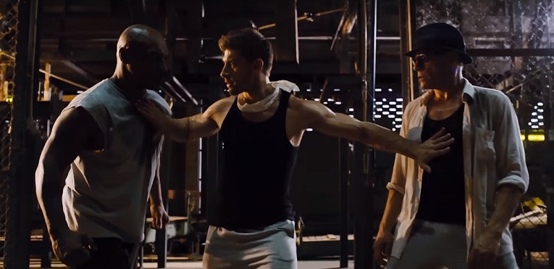 Alain Moussi allenato da Van Damme e Tyson nel final trailer di Kickboxer: Retaliation
