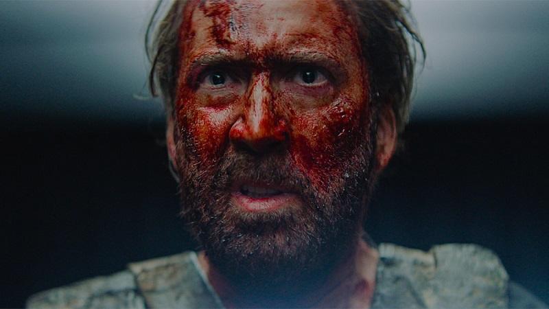 """Nicolas Cage su Mandy: """"Ispirato dalle espressioni di Bruce Lee; lui supereroe e genio"""""""