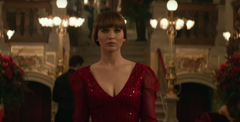 Red Sparrow, il nuovo trailer mette a nudo la spia Jennifer Lawrence