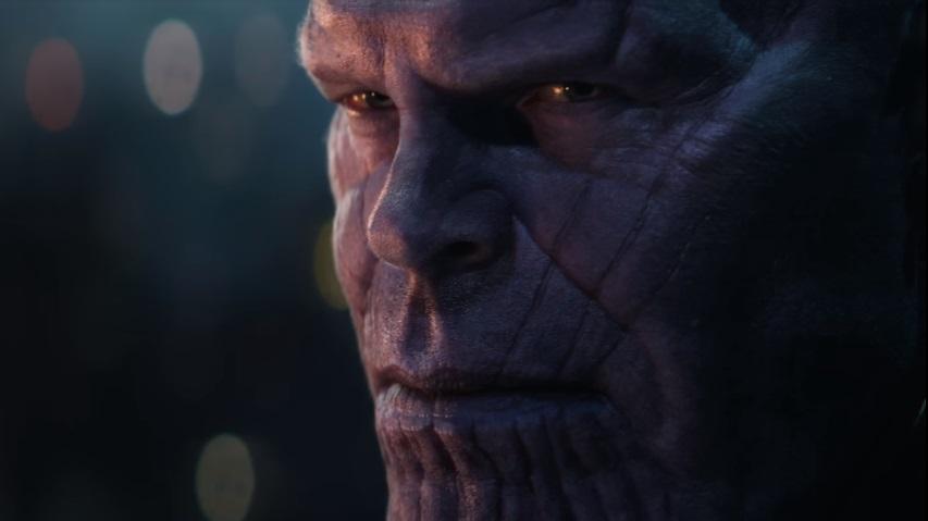Thanos minaccia gli eroi della Terra nello spot TV di Avengers: Infinity War