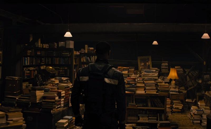 Michael B. Jordan è deciso a bruciare ogni libro nel teaser del film TV Fahrenheit 451
