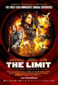 Norman Reedus and Michelle Rodriguez in The Limit (2018) poster