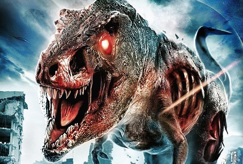 E' scontro tra mercenari e un T-Rex zombi nel trailer di The Jurassic Dead