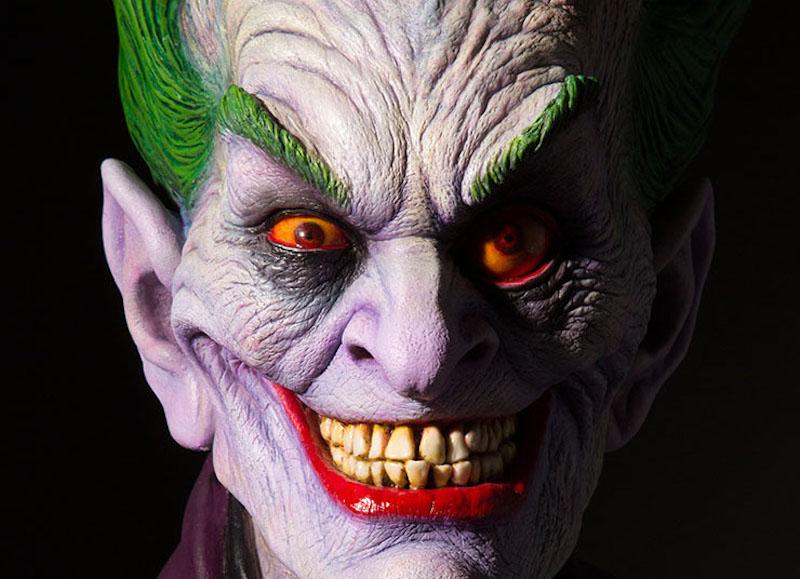 In vendita il busto del Joker realizzato da Rick Baker per DC Collectibles
