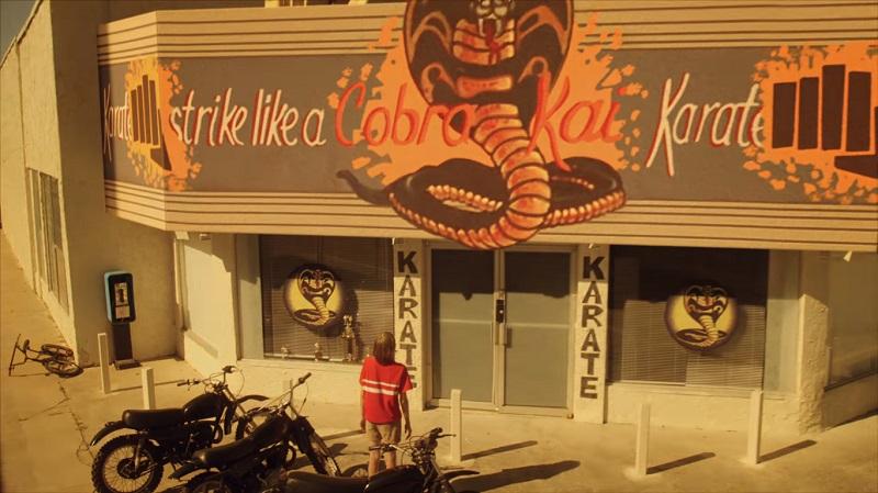 Il dojo di Johnny Lawrence riapre nel teaser trailer di Cobra Kai ...