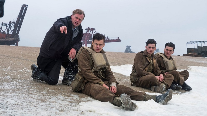 """Christopher Nolan su Dunkirk: """"Parlai molto con Spielberg di Salvate il soldato Ryan e Lo Squalo prima di iniziare"""""""