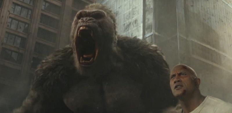 Nuova data di uscita e secondo full trailer italiano per Rampage - Furia animale