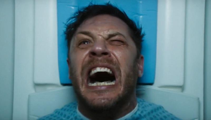 Il simbionte arriva da Tom Hardy nel teaser trailer di Venom