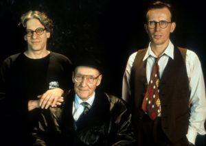 David Cronenberg, Peter Weller, William S. Burroughs pasto nudo set