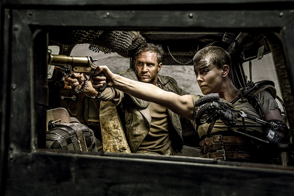 Charlize Theron and Tom Hardy in Mad Max Fury Road (2015)