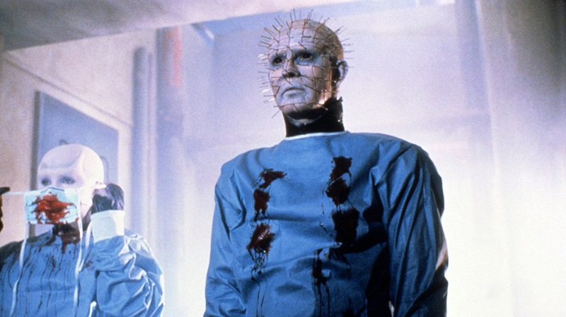 Doug Bradley and Barbie Wilde in Hellbound Hellraiser II (1988)