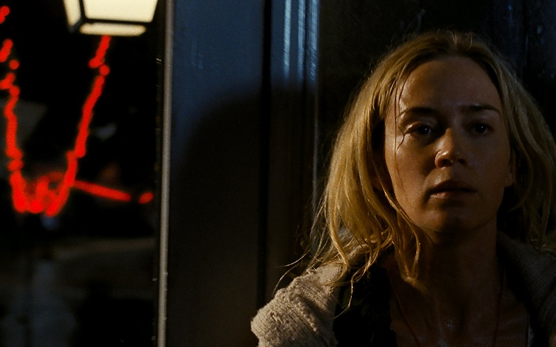 Emily Blunt in A Quiet Place (2018) film