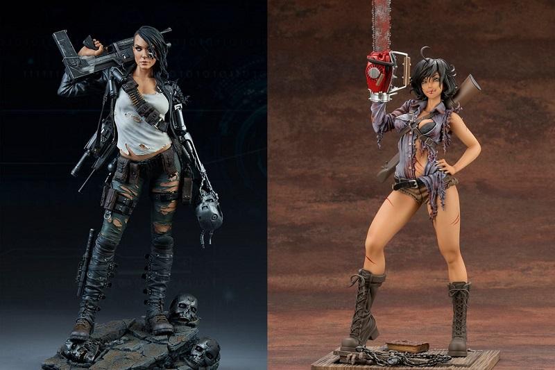 Terminator e Ash Williams (La Casa 2) diventano donne per 2 nuove statue collezionabili