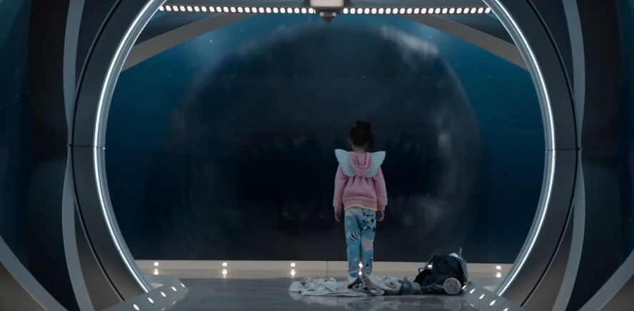 Poster, data di uscita e full trailer italiano per Shark - Il Primo Squalo, con Jason Statham ...