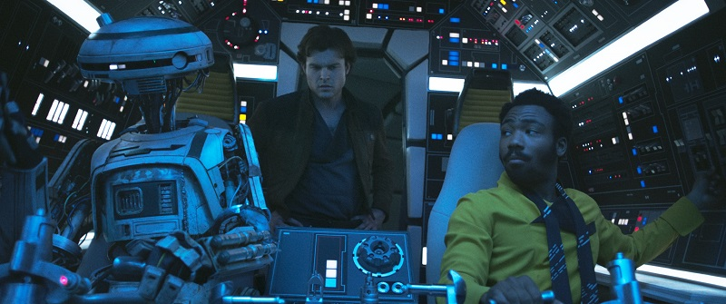 Alle origini di Han, Chewbe e Lando nel full trailer di Solo: A Star Wars Story