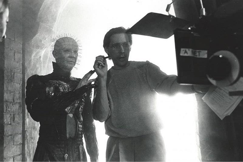 Doug Bradley and Tony Randel in Hellbound Hellraiser II (1988)