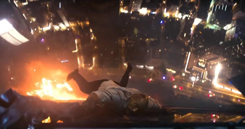 Secondo trailer e data di uscita per Skyscraper; Dwayne Johnson trova la sua 'trappola di cristallo'