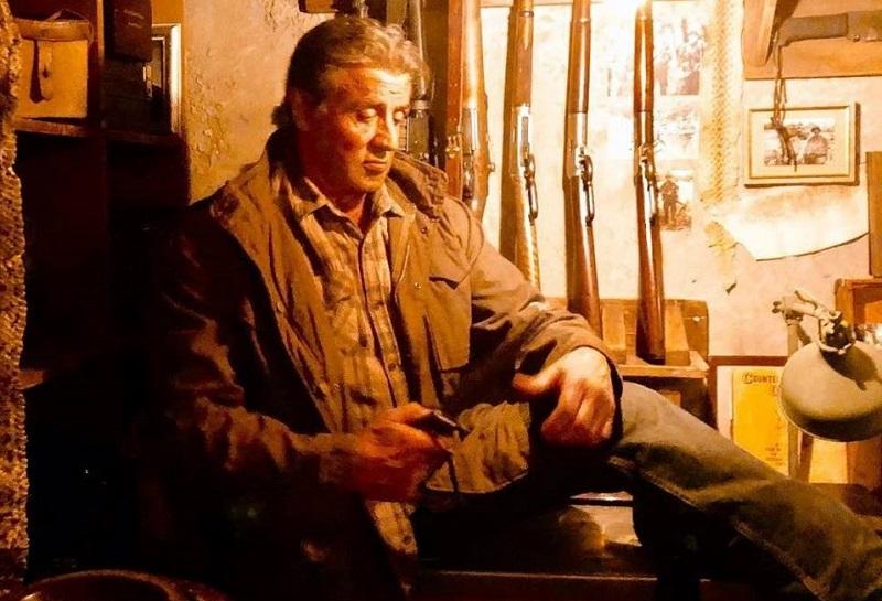 Sylvester Stallone in Rambo V Last Blood (2019)