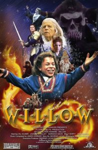 Willow (1988) poster film