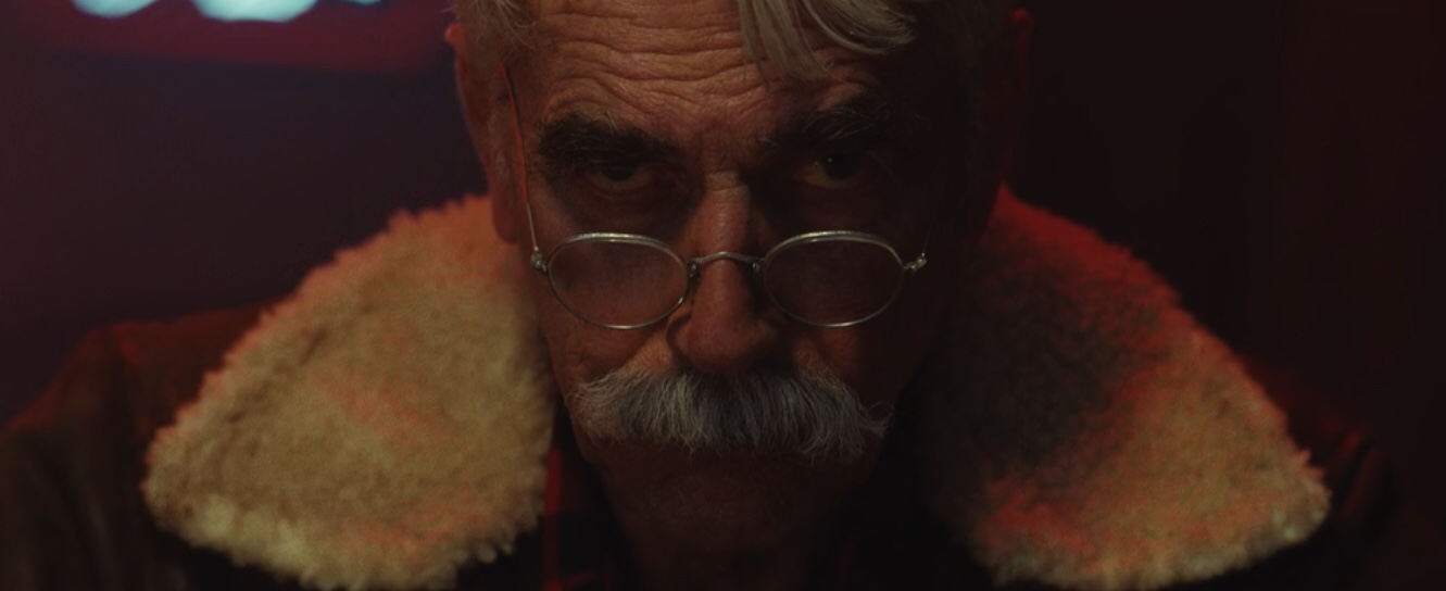 Sam Elliott in The Man Who Killed Hitler and then The Bigfoot
