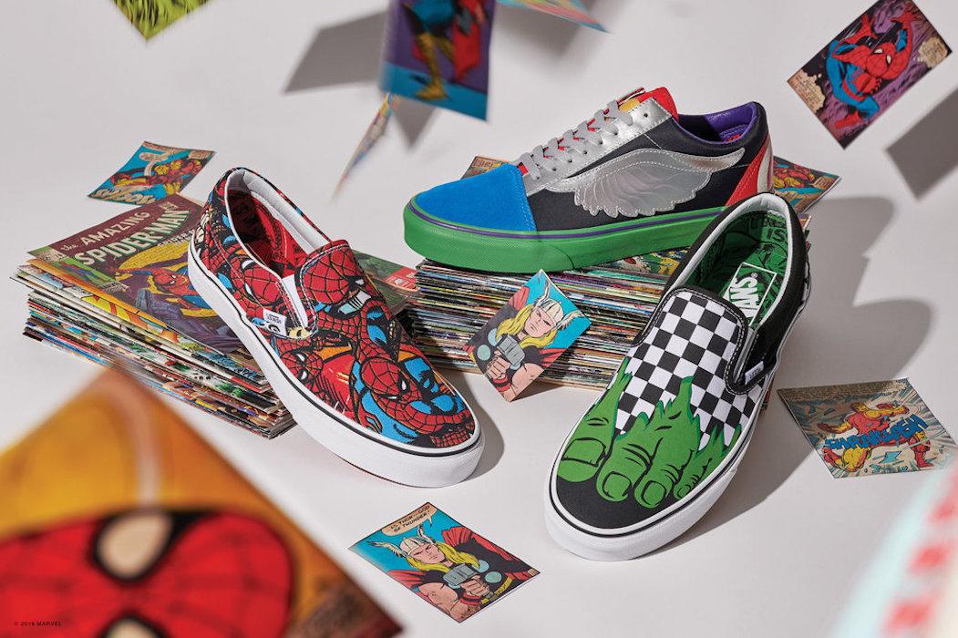 Potenti come supereroi con la linea Vans dedicata alla Marvel - Il ...