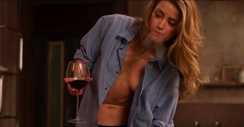 Amber Heard è una medium poco vestita e in pericolo nel trailer di London Fields