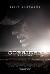 il corriere the mule Clint Eastwood poster