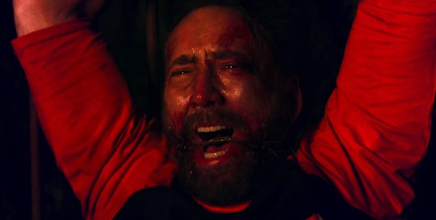 Nicolas Cage combatte con una motosega nel trailer di Mandy