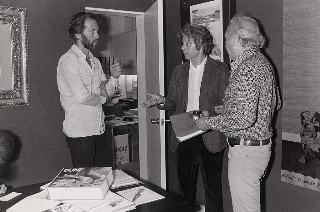 David Carradine and Alejandro Jodorowsky in Jodorowsky's Dune (2013)