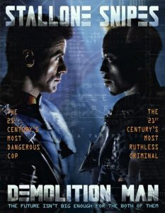 Demolition Man poster 1993