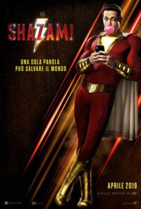 Shazam film Teaser Poster