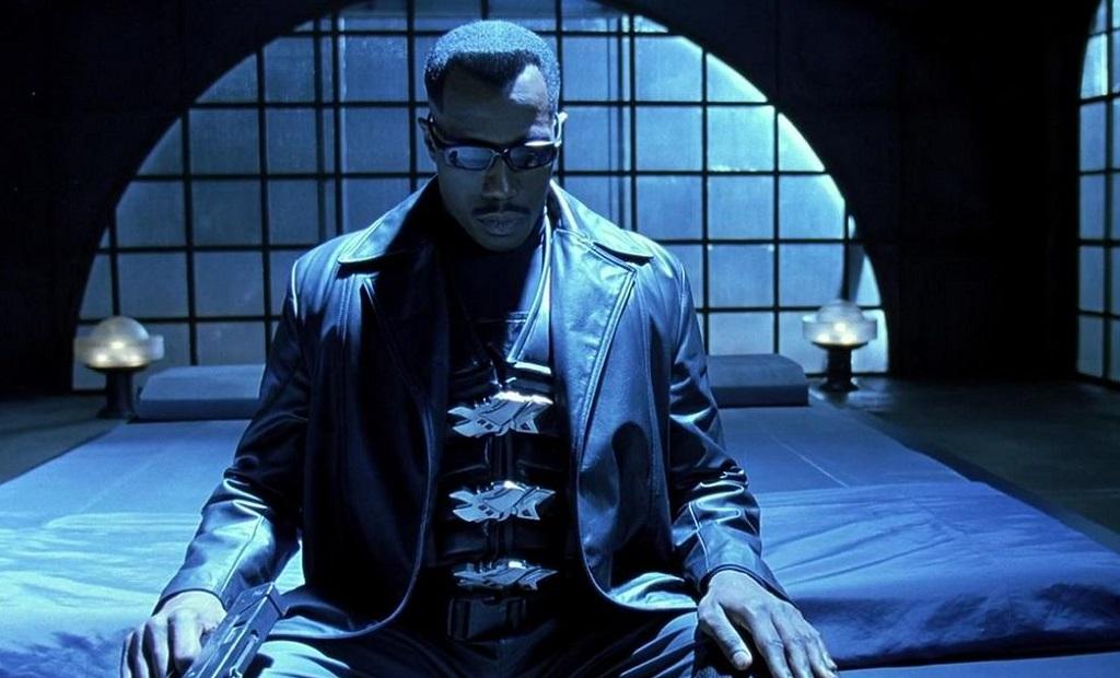 Wesley Snipes in Blade (1998) film