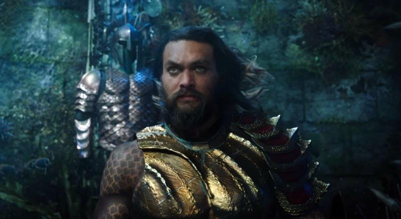 Nel full trailer di Aquaman, Jason Momoa accetta la corona dei 7 mari controvoglia