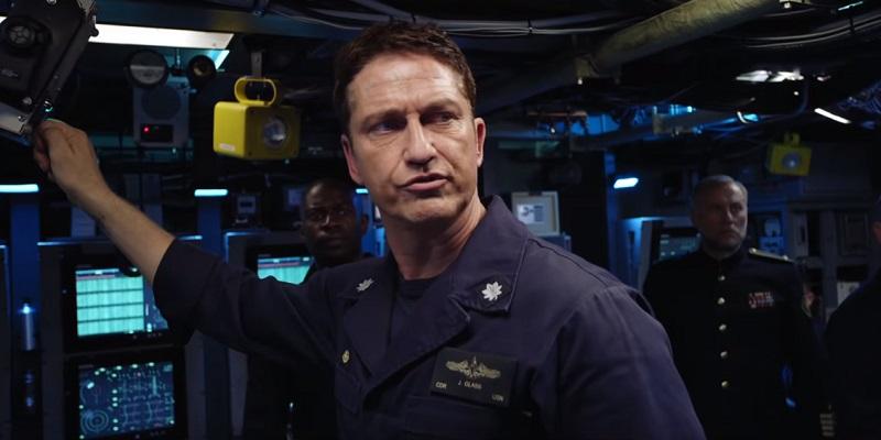 Nel trailer di Hunter Killer – Caccia negli Abissi, Gerard Butler guida in guerra il suo sottomarino