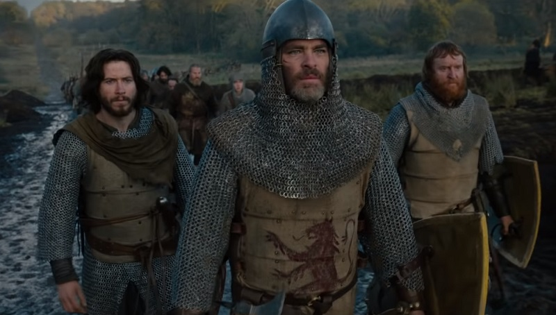 Nel trailer di Outlaw King – Il Re Fuorilegge, Chris Pine reclama il regno di Scozia per Netflix