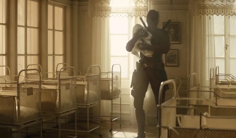 Video   Guardate le due scene di Deadpool 2 tagliate col piccolo Adolf Hitler