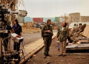 Stanley Kubrick and Matthew Modine in Full Metal Jacket (1987)