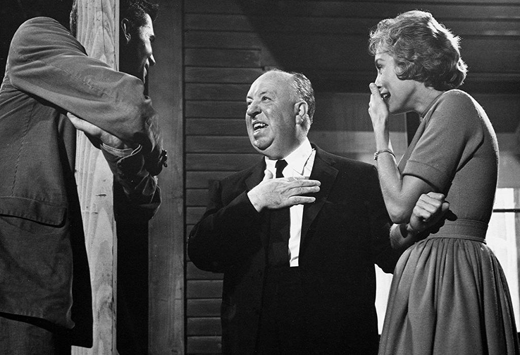 Psycho psyco Anthony Perkins, Dir. Alfred Hitchcock & Janet Leigh 1960