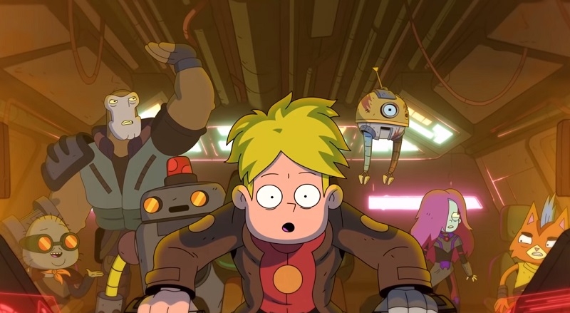 final space stagione 2 serie