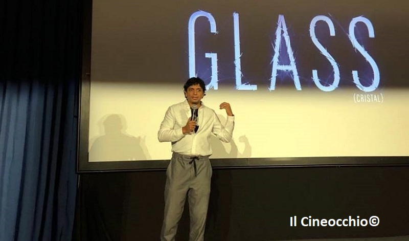 M. Night Shyamalan glass sitges