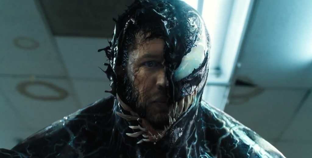 Tom Hardy in Venom (2018) film