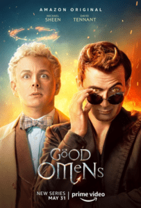 good omens serie amazon poster