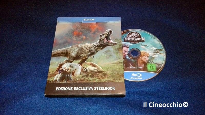 Recensione + Unboxing Blu-ray steelbook | Jurassic World – Il Regno Distrutto diJuan Antonio Bayona
