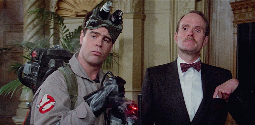 Dan Aykroyd e Michael Ensign in Ghostbusters (1984)