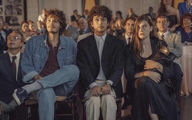 Emanuele Salce Irene Vetere Mauro Lamantia, and Giovanni Toscano in Notti magiche (2018)